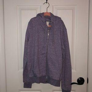 H&M Purple Hooded Jacket